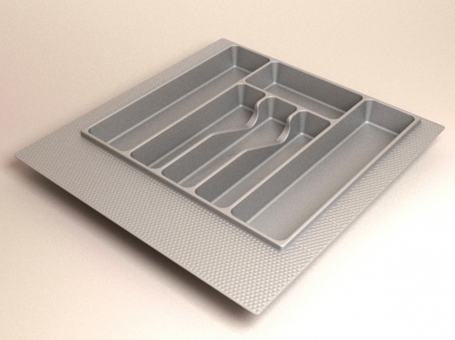 Лоток для столовых приборов 470*490 (500мм). Короб: Объем - 0,06 куба, вес - 8,10 кг.