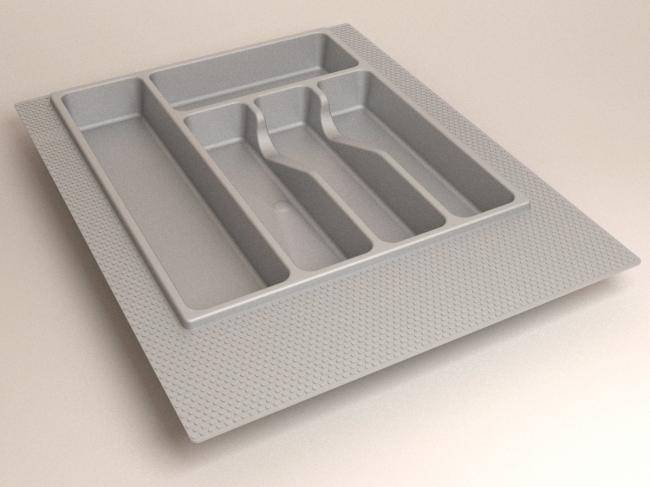 Лоток для столовых приборов 390*490  (400 мм). Короб: Объем - 0,05 куба, вес 7,24 кг