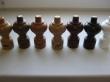 Наконечник декоративный «Филигрань» трубы карниза диам. 28 мм